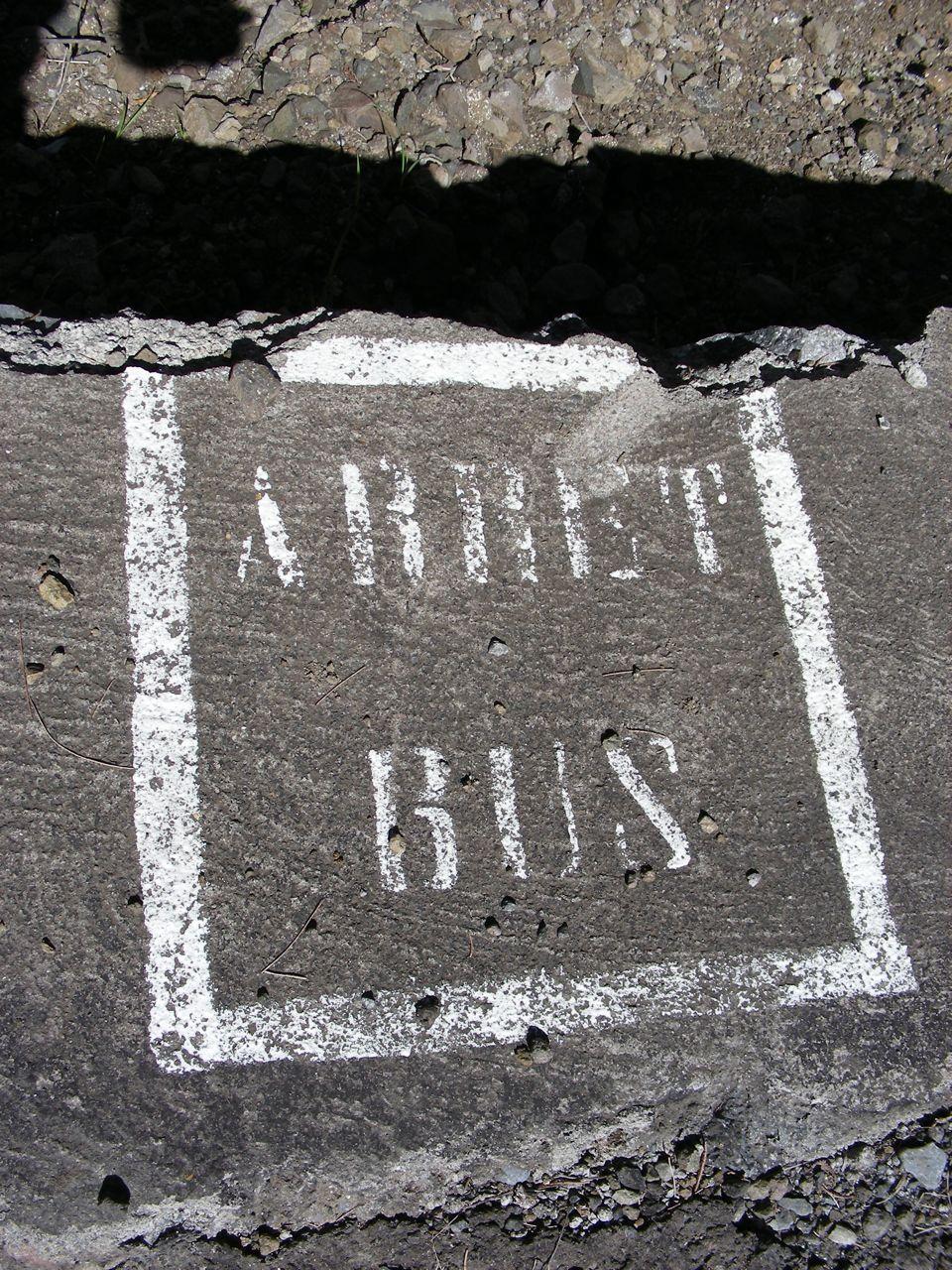 Arrêt bus