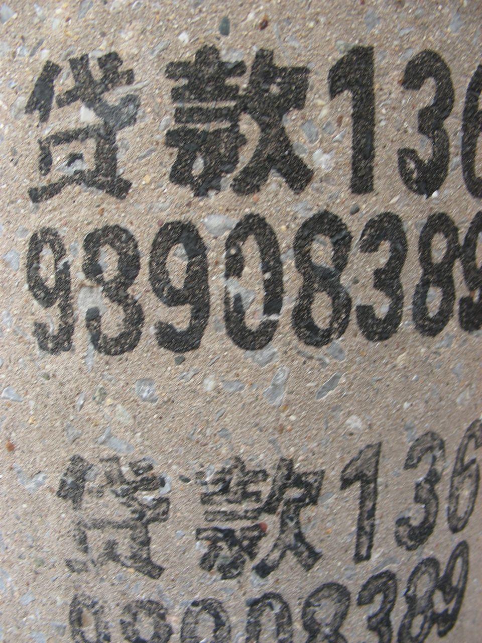 numéros chinois