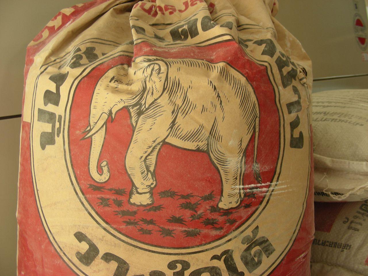 ciment éléphant