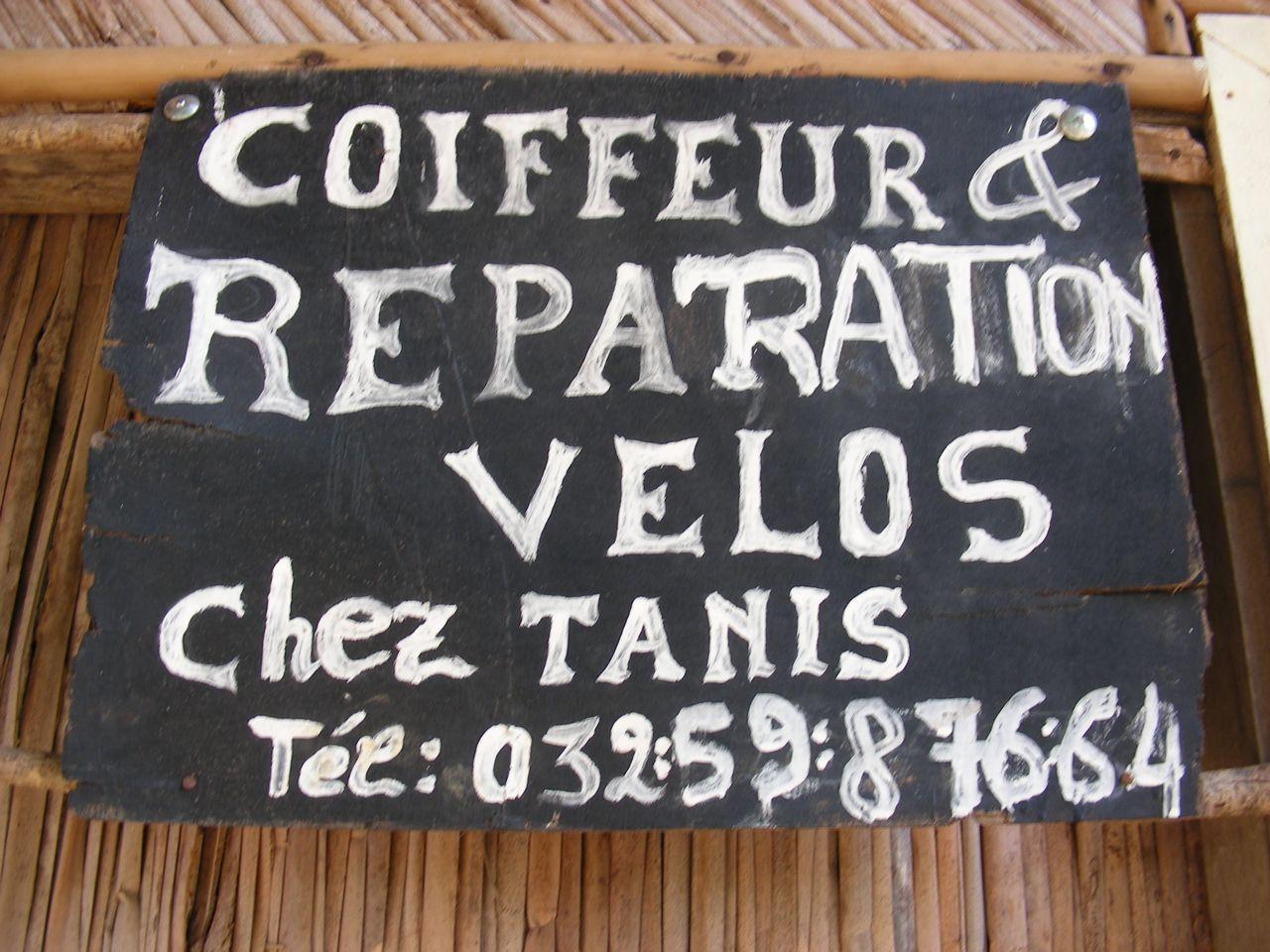 Coiffure & vélo