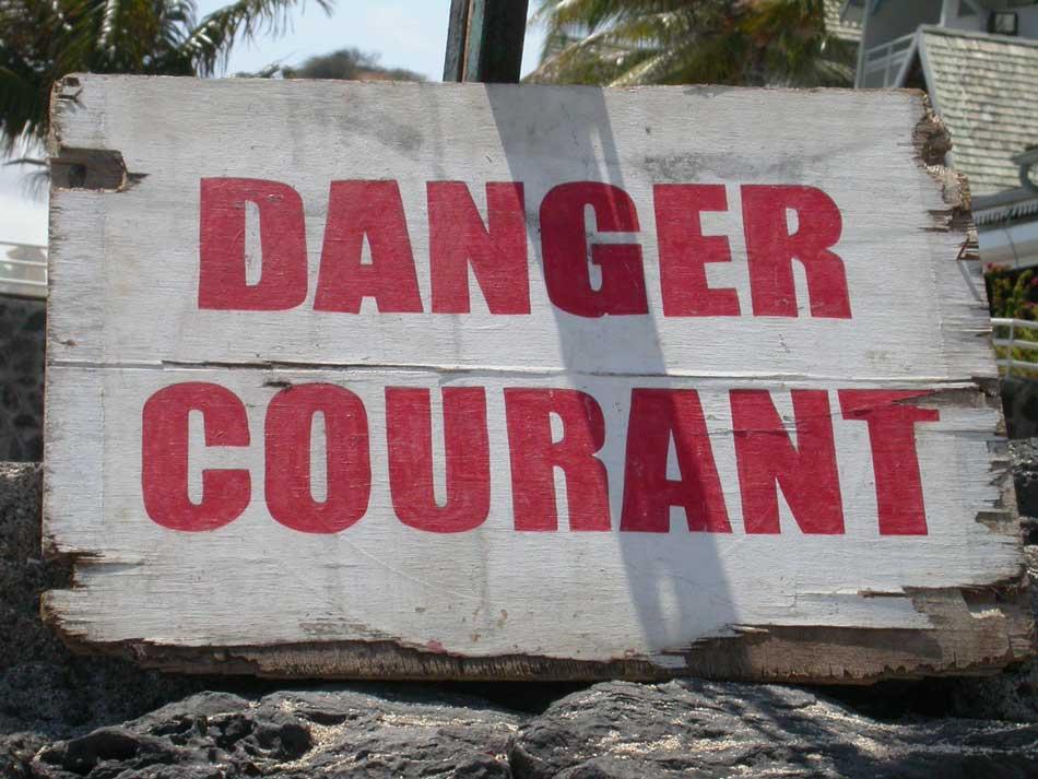 danger courant
