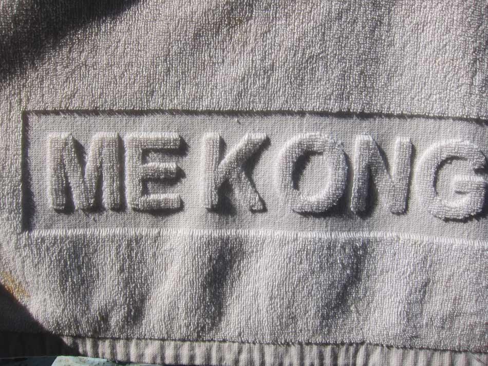 serviette du Mékong
