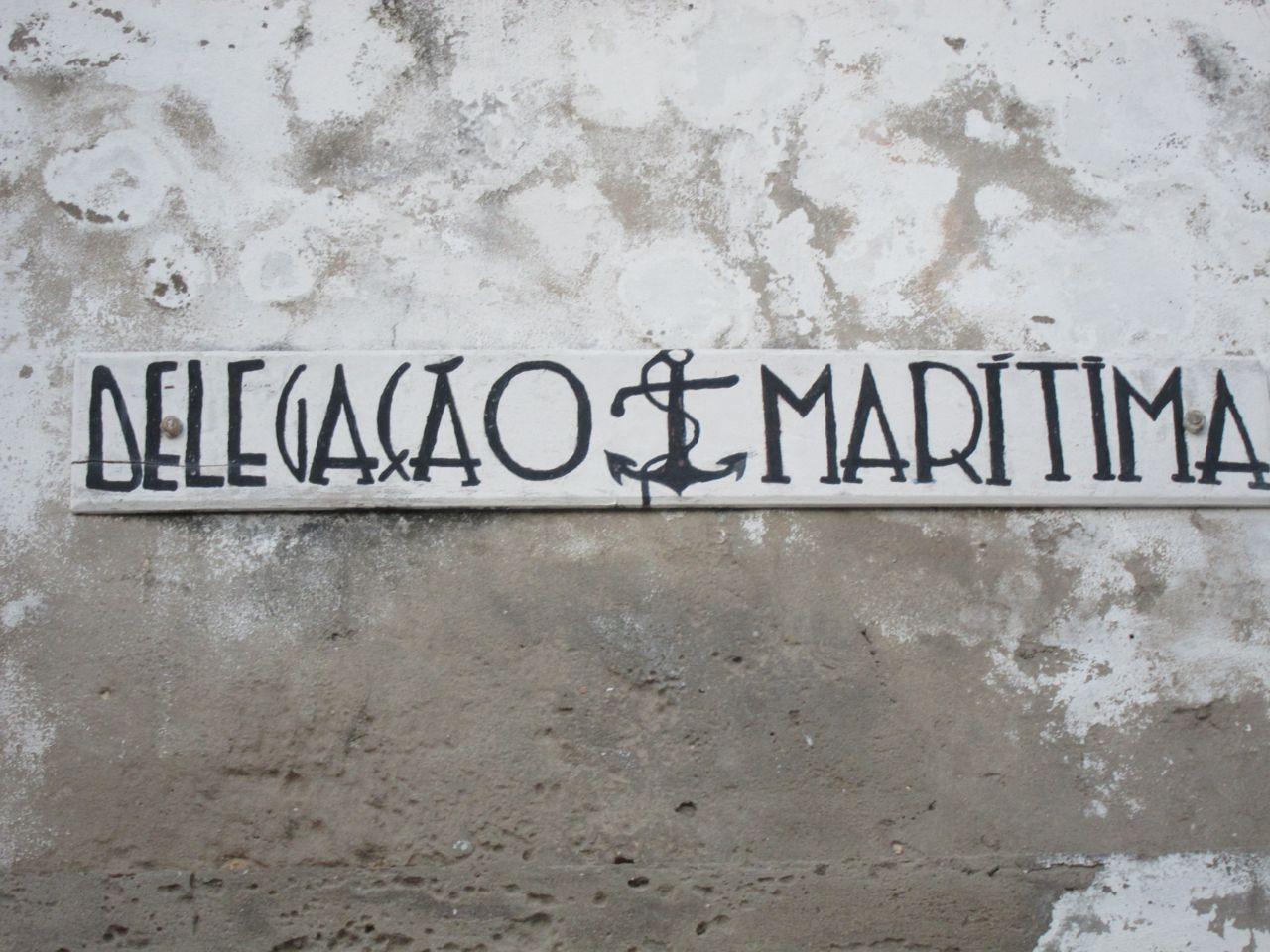 delegacao maritima (Ibo, Mpzambique. 2012)