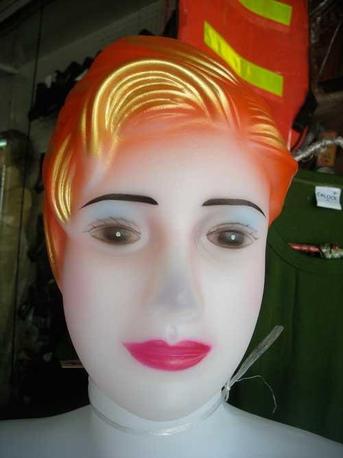 tête rouge