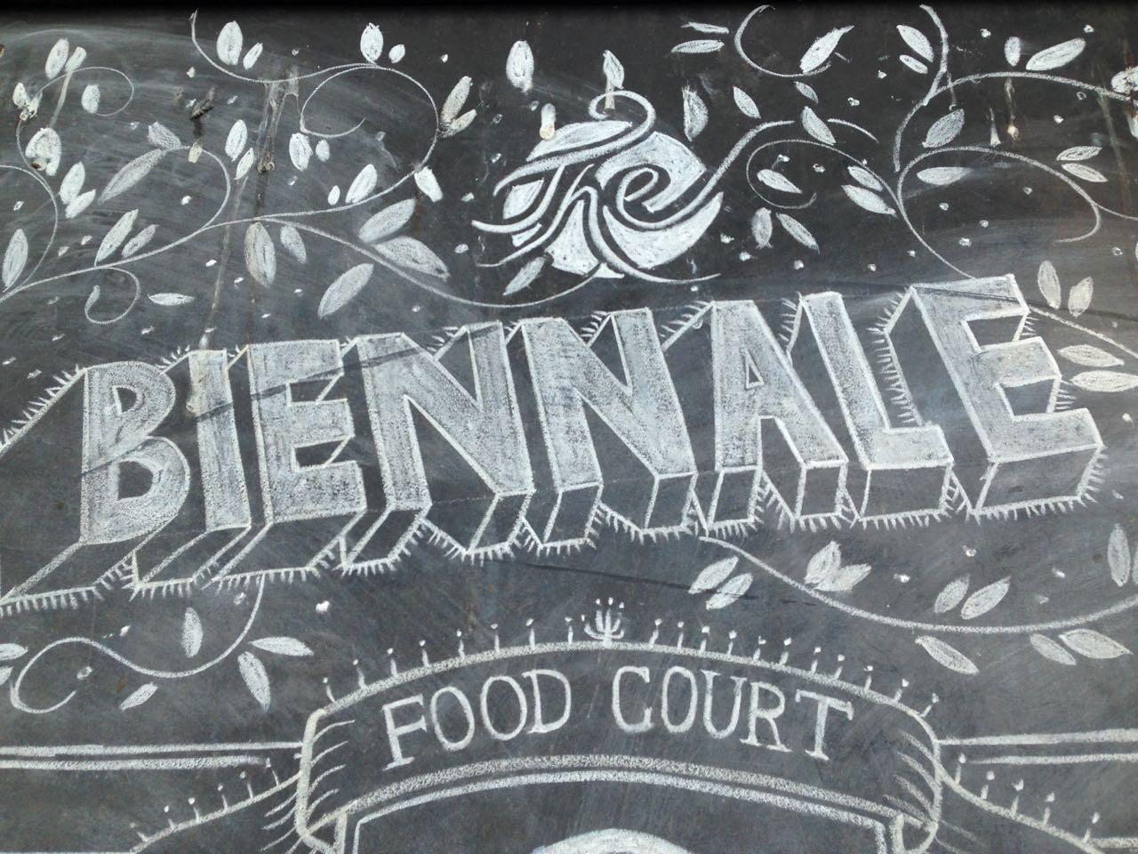 biennale food court