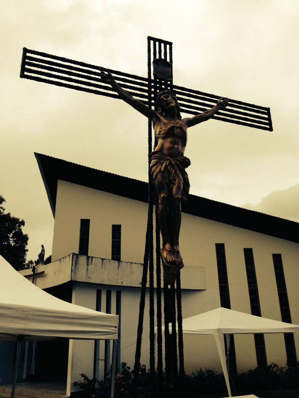 croix en fer à béton
