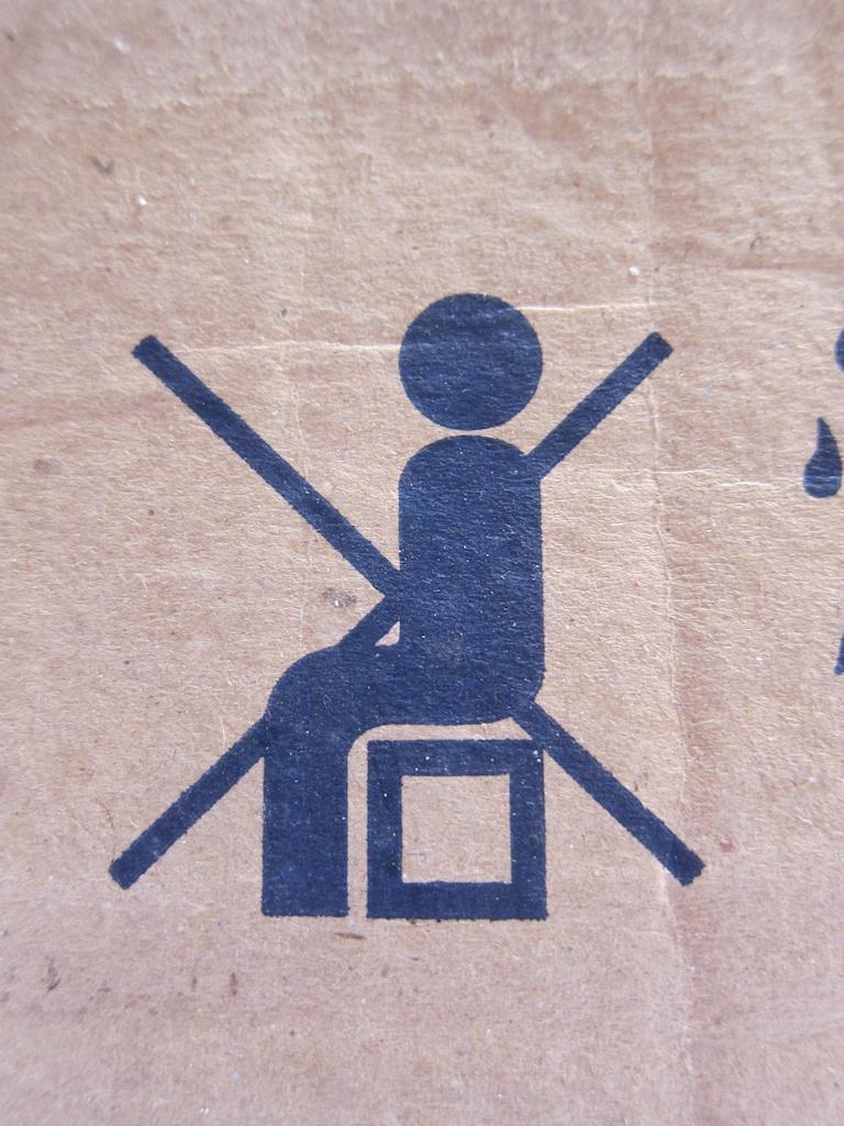 Ne pas s'assoir Cambodge