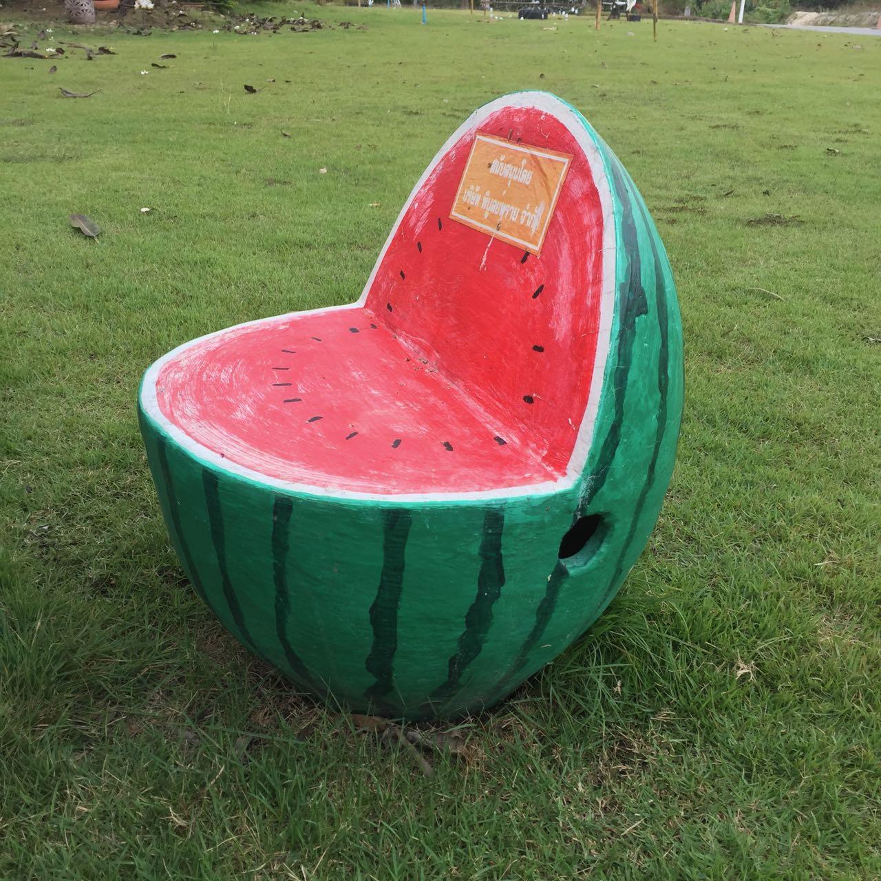 fauteuil pastèque