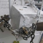 tronc aux cadenas