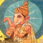 Ganesh peint