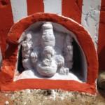Ganesh à rayures