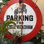 parking for cycle rickshaw