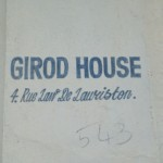 Girod House, 4 rue de Lauriston